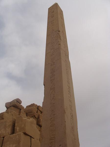 Obelisk in the Karnak Temple