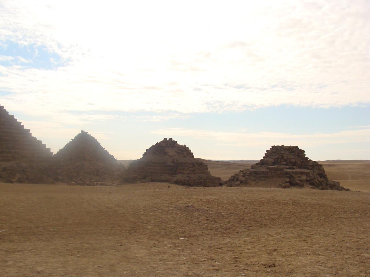 Pharoah's Family Pyramids