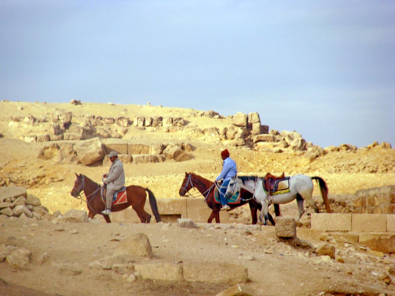 Horse Riding at the Pyramids