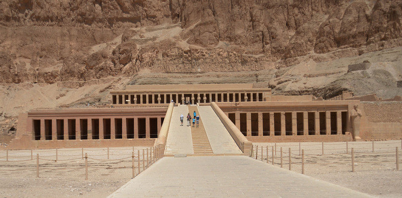 Hatshepsut's Temple, Valley of the Kings, Upper Egypt