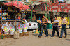 The village market in Al Fayoum, Egypt.