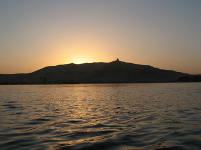 Sunset on the Nile - Aswan, Egypt