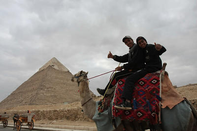 Giza and Cairo