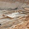 The early new kingdom mortuary temple of Queen Hatshepsut at Thebes in Egypt