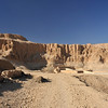 Panoramic image of Hatshepsut's mortuary temple at  Luxor in Egypt