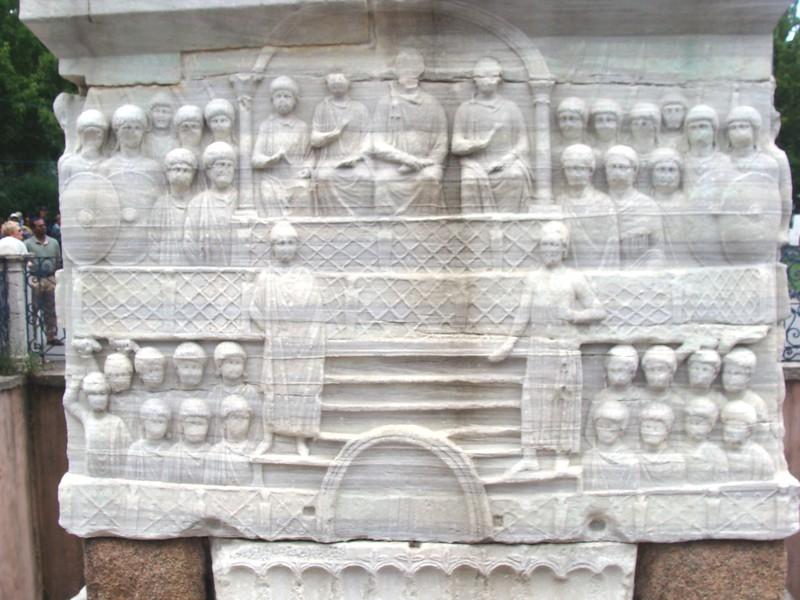 Pharaoh Thutmosis III Obelisk, Base Side 4
