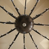 Chandelier in the Lobby of the Jaz Mirabel Beach Resort