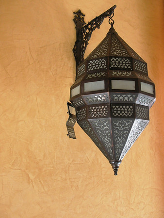 Lantern in Jaz Mirabel Beach Resort in Sharm el-Sheikh, Egypt