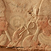 The god amun makes the gift of life (ankh) to the pharaoh Thutmoses IV. A metaphor for charity