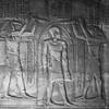 Gods Ptah and Horus Welcoming Pharaoh