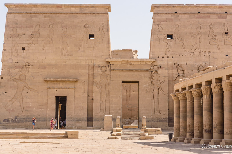 Entrance into Philae Temple