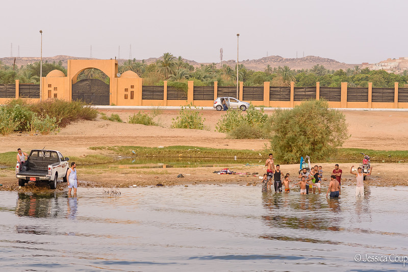 Evening in Aswan