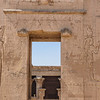 Entrance into Temple of Edfu