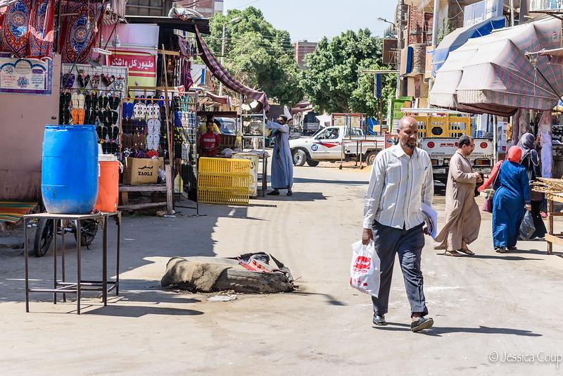 Street in Edfu