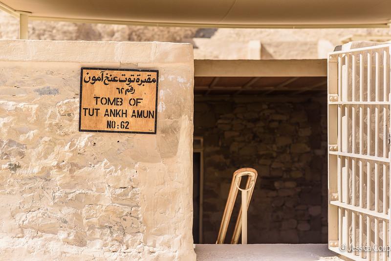 Tomb of Tut Ankh Amun