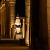 Nightfall at Luxor Temple