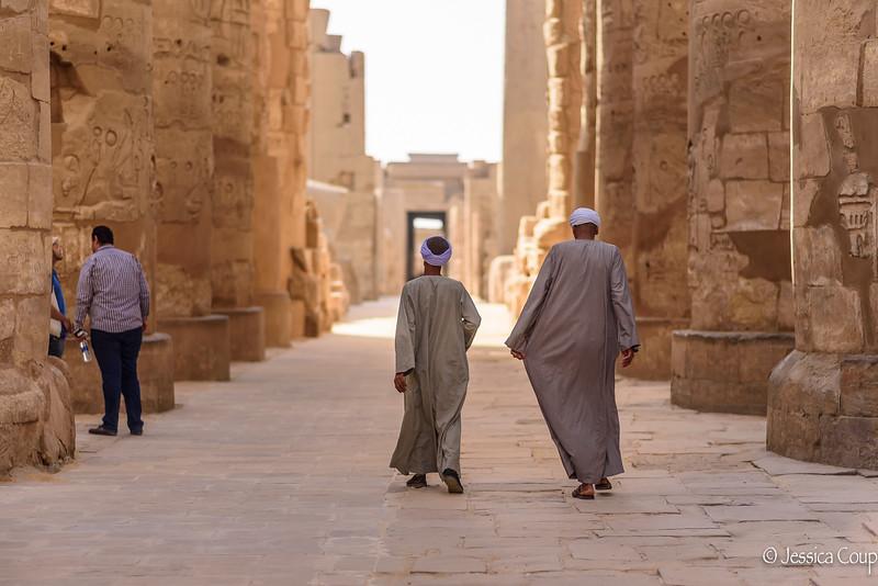 Walking Through the Columns