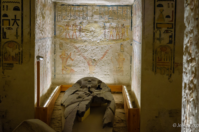 Inside a Tomb in Valley of the Kings