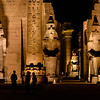 Enjoying Luxor Temple at Night