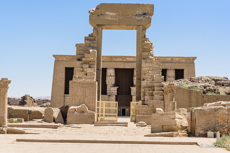 Entrance to the Dendera Temple Complex