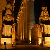 Hypostyle Hall and Pharaoh Statues