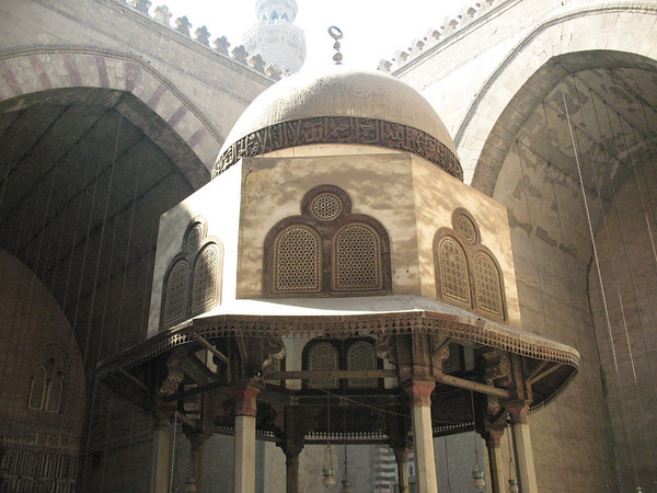 Dome in Mosque of Sultan Hassan, Cairo, Egypt