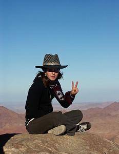 Top of Mt. Sinai.