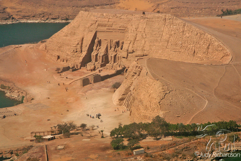 Abu Simbel from Air