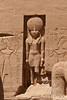 Statue of Ra Horakhete with Falcon Head