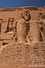 Ramses II Statue & King's Cartouches