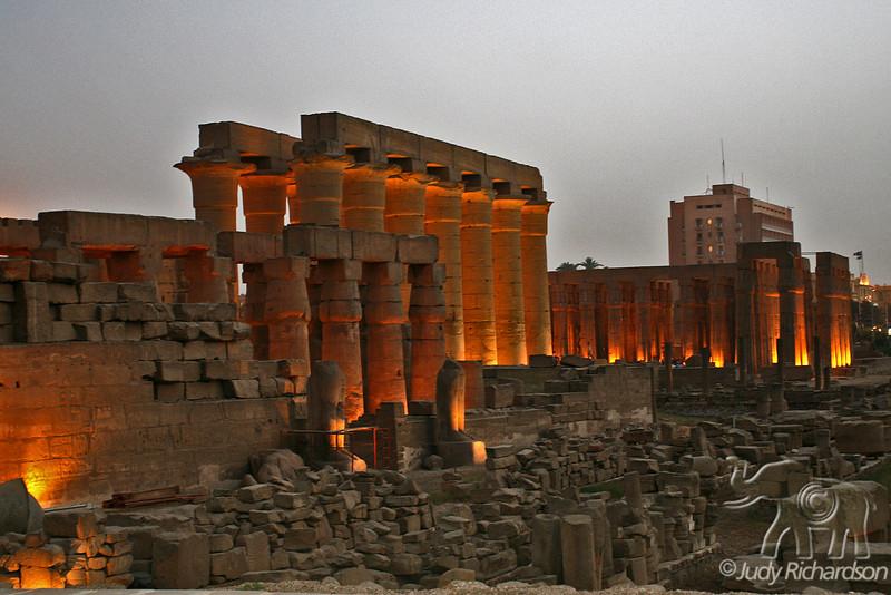 Luxor at Dusk