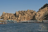 Boats at Philae Approach