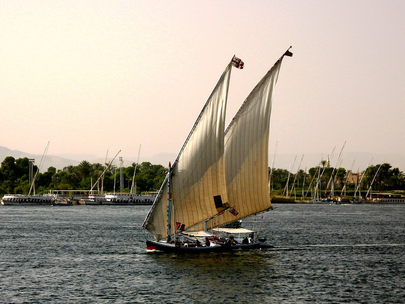 Feluccas on the Nile