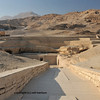 panorama of the necropolis of the nobles at thebes near Luxor, Egypt