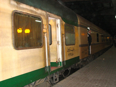 Overnight Train - Egypt