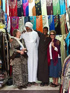 Shopping in Aswan.