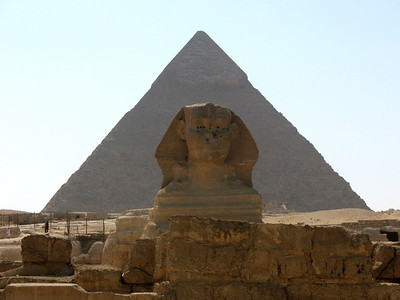 Sphinx - Giza, Egypt
