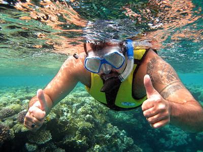 Let's go snorkling!