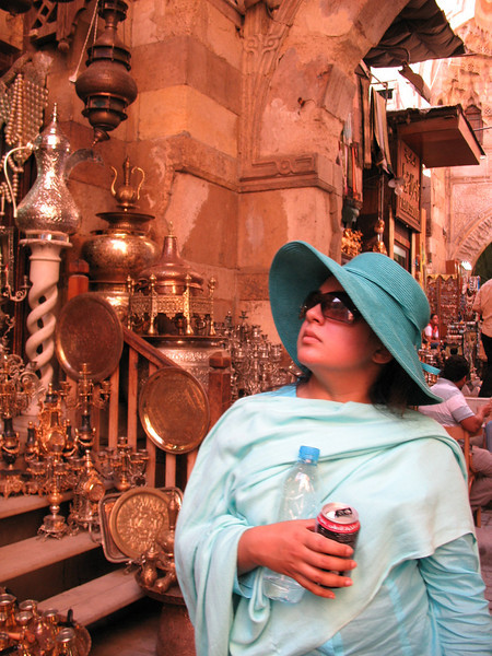 Asma in the Khan El Khalili Bazaar - Cairo, Egypt