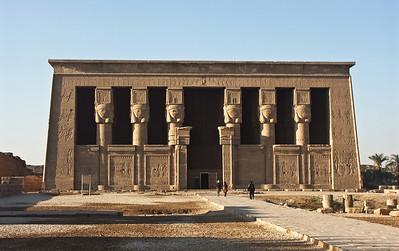 Dendara Temple.
