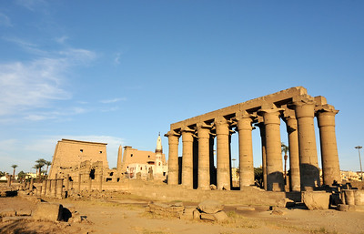 Pylon and Colonnade of Amenhotep III, Luxor Temple