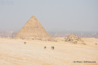 Lo Behold--The Pyramids Stand Mighty Tall