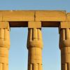 Columns of Sun Court of Amenhotep III, Luxor Temple