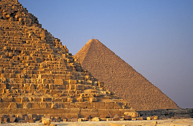 Pyramids of Khufu and Khafre, Giza