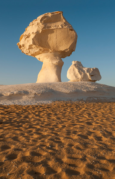 Chicken & Mushroom Rock, White Desert