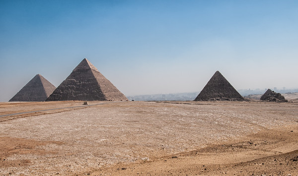 Quiet among the Pyramids