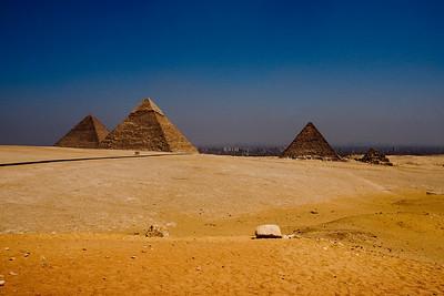 Pyramids, Giza
