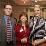 Matt Rountree, Jane Merman and Rachel Kovatch with the American Heart Association.