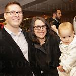 Robert, Caroline and Juliette Pieroni.