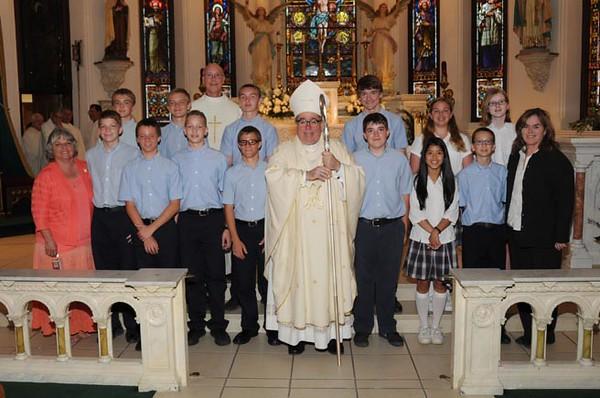 Eighth Grade Mass 2016